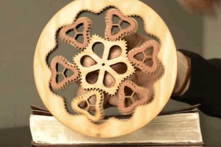 42: Wanted: Non-Circular Planetary Gear Set